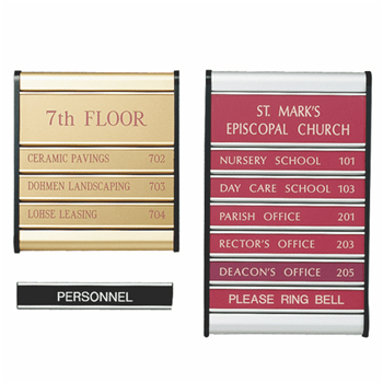 Directional, Desk & Door Name Plates
