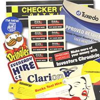 Self Adhesive Labels & Stickers
