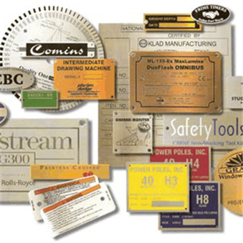 Metal Plates & Labels