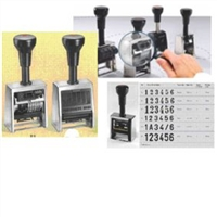 Automatic Numbering Stamps