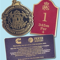 CAST BRONZE PLAQUE ASSORTED