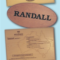 TIMBER PLAQUES